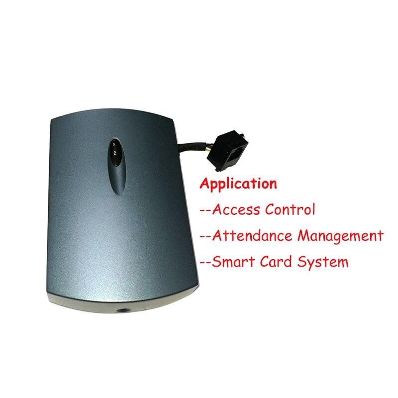 NFC RFID carte à puce 13.56 MHz lecteur de carte à puce tcp/ip (POE) + interface WIFI HDM8540 - 4