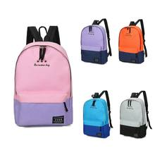 dfddbdffaa29 Gym Bag Fashion Women Leisure Back Pack Korean Ladies Knapsack Casual  Travel Bags for School Teenage