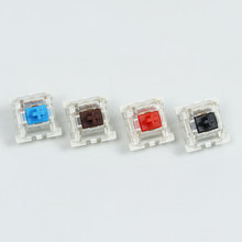 Outemu Switches mechanical keyboard black blue brown red key switch for CIY Sockets SMD 3pin Thin pins Compatible with MX switch