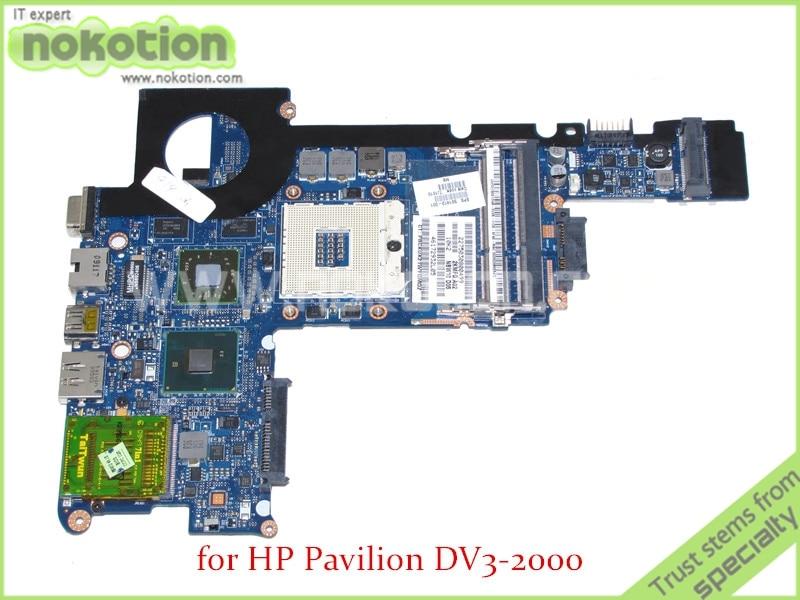 NOKOTION NBW10 LA-4743P SPS 591413-001 For HP Pavilion DV3 DV3-2000 motherboard HM55 Mobility Radeon HD 5430 DDR3 574680 001 1gb system board fit hp pavilion dv7 3089nr dv7 3000 series notebook pc motherboard 100% working