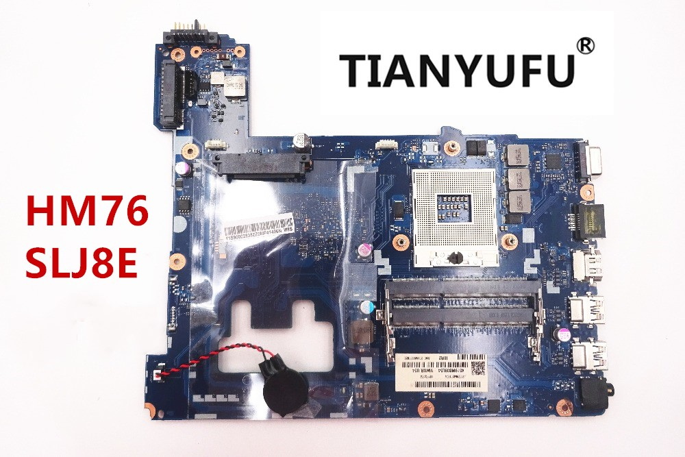 For Lenovo G500 laptop motherboard VIWGP GR LA 9632P HM76 chipset support i3 i5 i7 processo