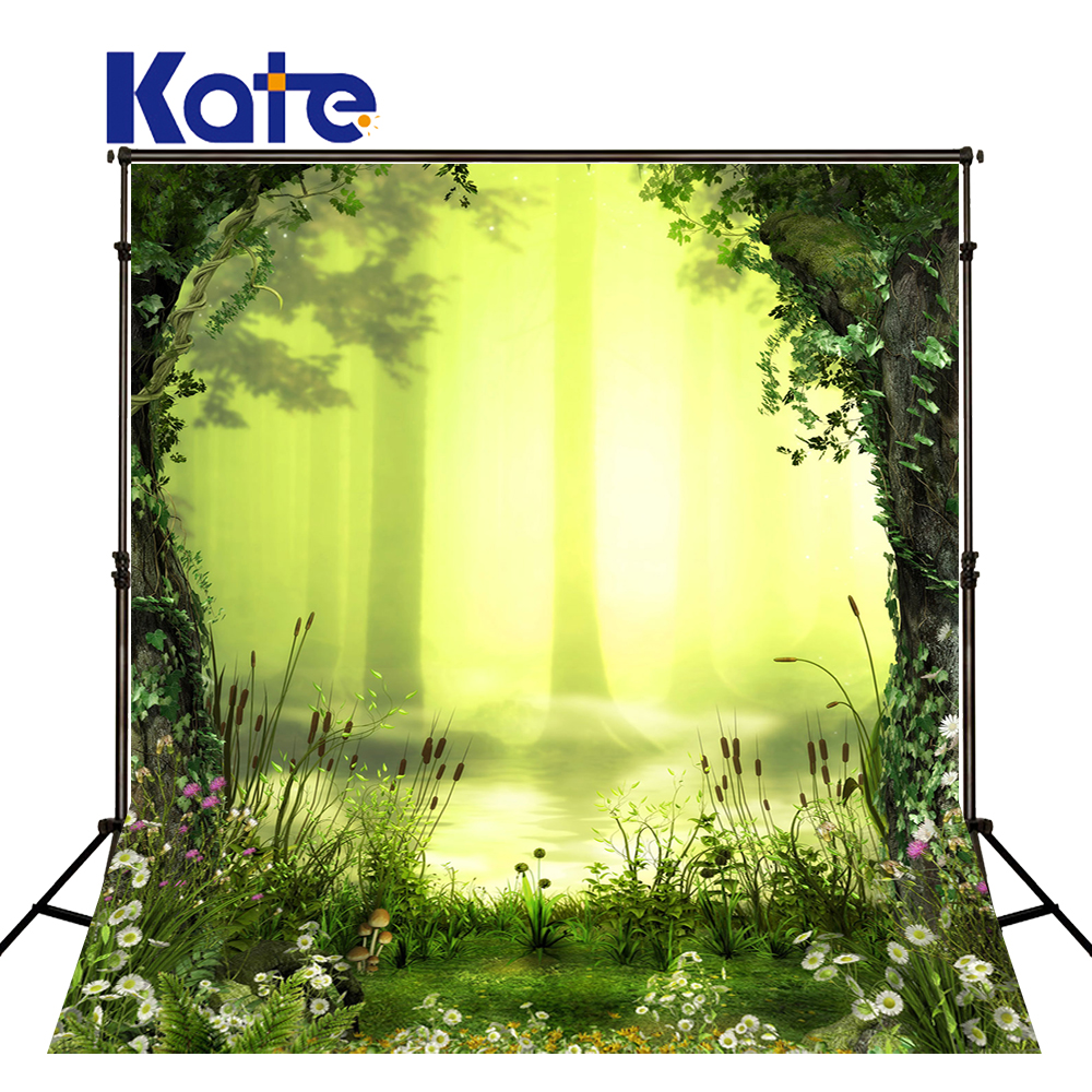 KATE Scenic Photography Backdrops Nature Scenic Photo Background Children Backdrop Forest Fantasy Background for Newborn Shoot kate dry land photography backdrops land photography background retro children custom backdrop props for newborn photo shoot