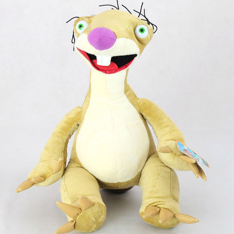 Sid Plush Stuffed Animal Toy Sloths Sid Doll Dolls 22cm Free Shipping