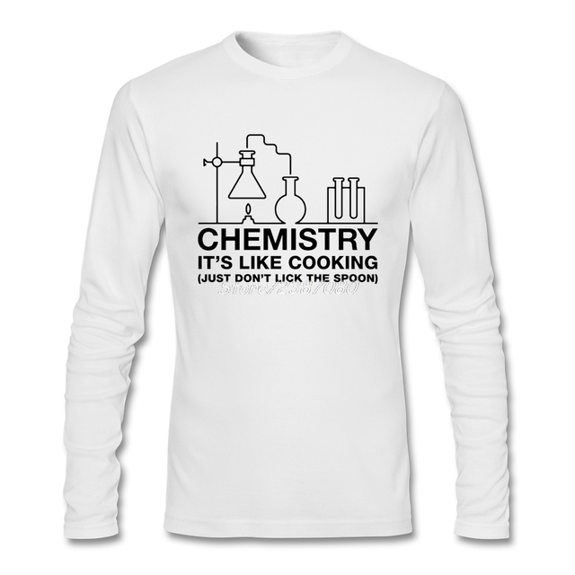 Chemistry It S Like Cooking Just Don T Lick The Spoon T Shirt O Neck