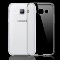 100x Ultra Thin 0.3mm Transparent Soft Silicone back cover case for Samsung Galaxy J1 J100 cases clear TPU capa fudas coque