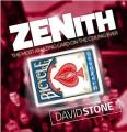 Free shipping Hot sale Zenith (All and Gimmicks) by David Stone,street magic bar close up card magic trick,illusion,fun,mental