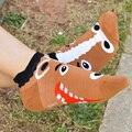 3D Мультфильм Носки chausettes femme Смешные Женщины новинка Теплый носок 2016 Зима 5 Цвета