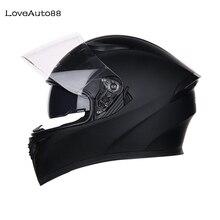 Casque de moto professionnel intégral casque de course casque de moto modulaire à double lentille pour femmes/hommes casques de sécurité