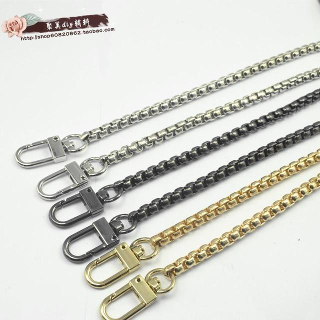Free Shipping High Quality Bag Metal Strap Accessories Handbag Snake Chain Handles And Shoulder