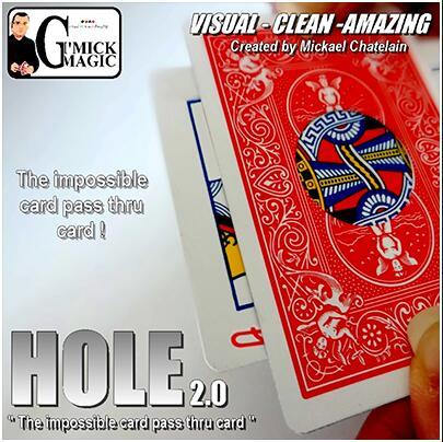 Mickael Chatelain - HOLE 2.0 Magic Tricks