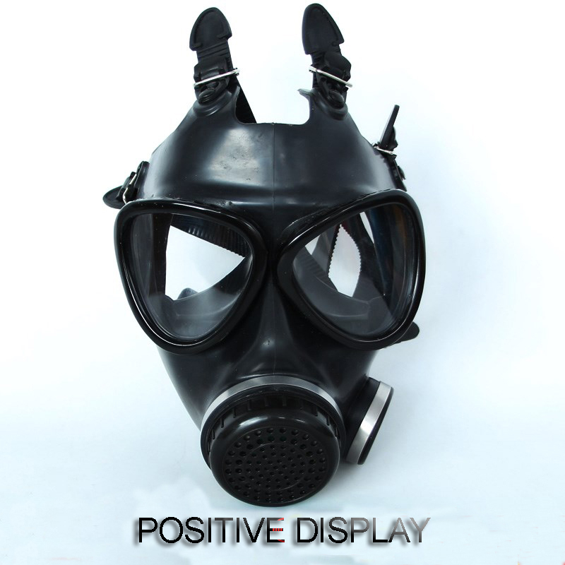 Image 2 - 87 type gas Full mask Non military Respirator Gas mask high quality rubber High definition safety mask 4 toxic gas filters-in Masks from Security & Protection