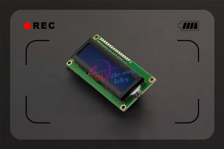 DFRobot Genuine IIC LCD 1602 Display module Character 5V Blue Backlight with Gadgeteer cale Compatible with