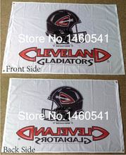 Cleveland Gladiators Helmet Flag 3ft x 5ft Polyester Arena Football League AFL Banner Flying Size No.4 144* 96cm QingQing Flag