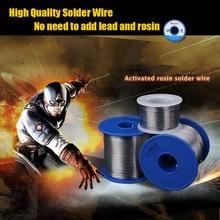 цена на Tin lead Solder Core Solder Rosin 0.5mm 500g with Flux Welding Soldering Wire Roll
