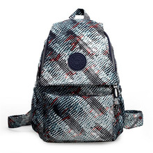 High Quality Canvas Printing Backpack Women School Bags for Teenage Girls Cute Bookbags Fashion Laptop Backpacks Female mochilas