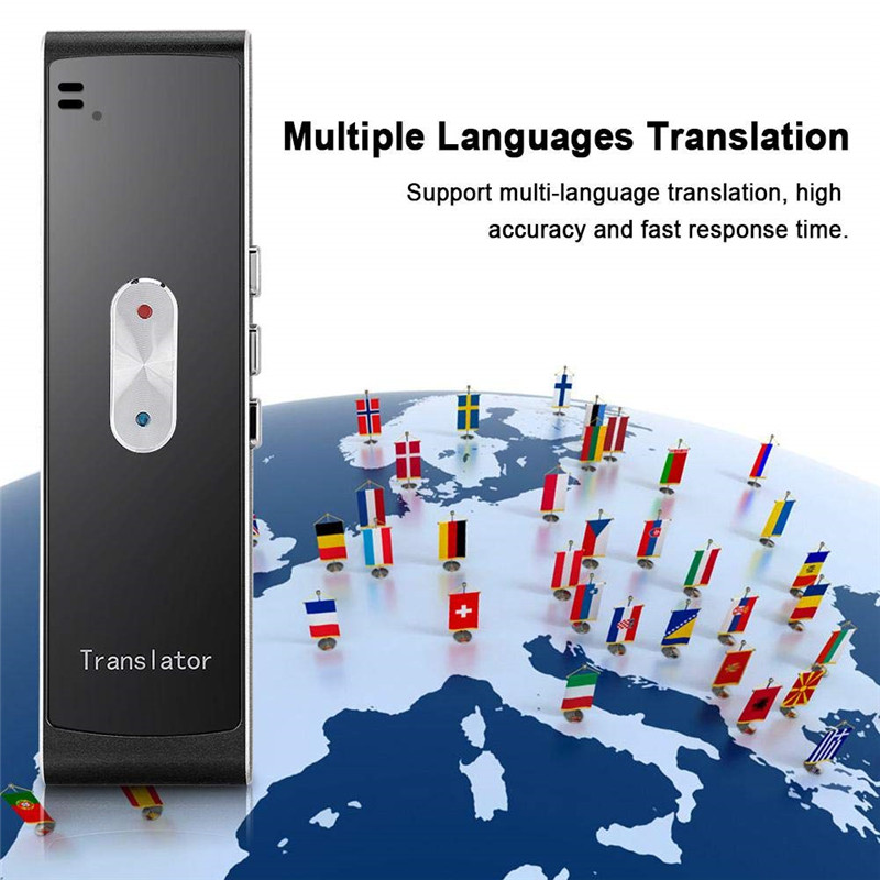 Draagbare Voice Vertaler Translaty Muama Enence Smart Instant Real Time Voice Multi Languagestranslator Ondersteuning 40 Talen