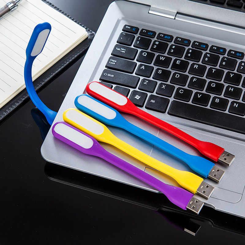 1 шт. гибкий USB светодиодный светильник для книг, настольная лампа для чтения, Кемпинговый флэш-светильник, ночной Светильник s для ПК, мобильная зарядка, ноутбук, компьютер