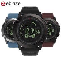 Купить с кэшбэком Zeblaze VIBE 3 All-day Activity Record Chronograph World Time Calendar Sport 33 Month Long Standby Smart Watch for iOS Android