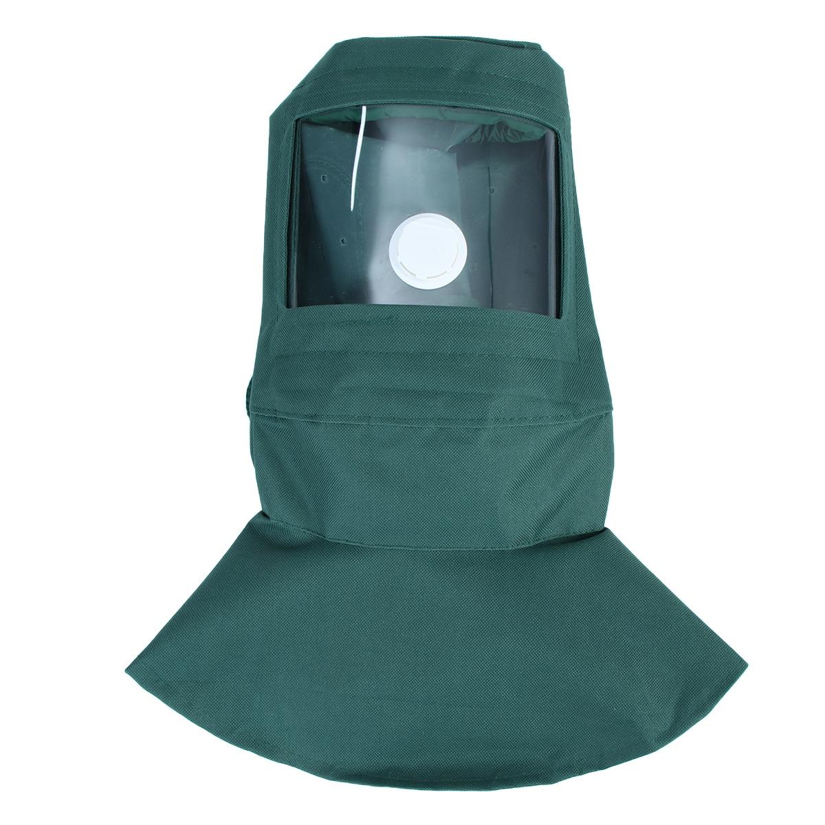 Schutzhelm Neue Arbeit Gesicht Maske Industrie Arbeit Schutz Maske Strahlen Haube Sand Schleif Grit Schuss Sand Blaster Maske Anti Staub Ausrüstung