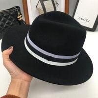 החדש שלנו סטנדרטי מ 'כובע צמר בציר ג' אז כובע גברים ונשים קוריאנים כובע גאות קניות כל משחק צל