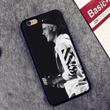 Justin Bieber Printed Soft TPU Skin Mobile Phone Cases OEM For iPhone 6 6S Plus 7 7 Plus 5 5S 5C SE 4 4S Back Cover Shell