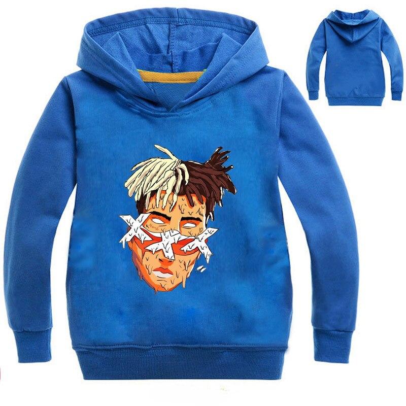 2-16Years Xxxtentacion Sweatshirt Kids Hoodie Boy Clothes Girls Hoodies for Teenagers Sweaters Pullovers Infant Nova Jumpers худи xxxtentacion