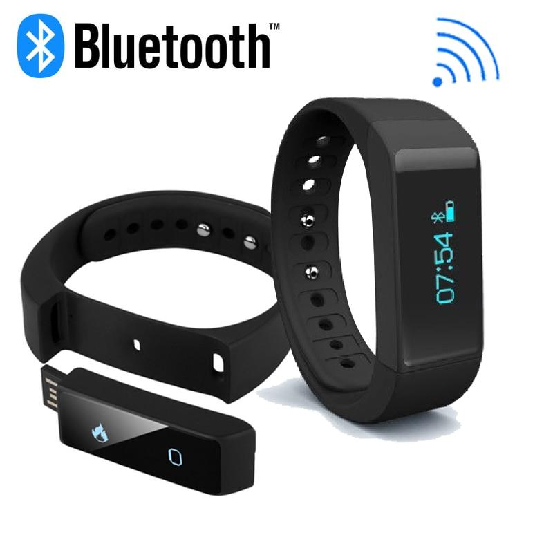 imágenes para I5 Original Más El reloj de Pulsera Bluetooth Pulsera Inteligente de Carga USB i5plus Health Tracker Monitor de Sueño Inteligente A Prueba de agua banda