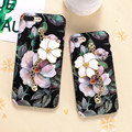 KISSCASE For iPhone 7 7 Plus Case Retro Chic Flower Chain Luxury Luminous Hard PC Protective Girly Cover For iPhone7 7Plus Funda