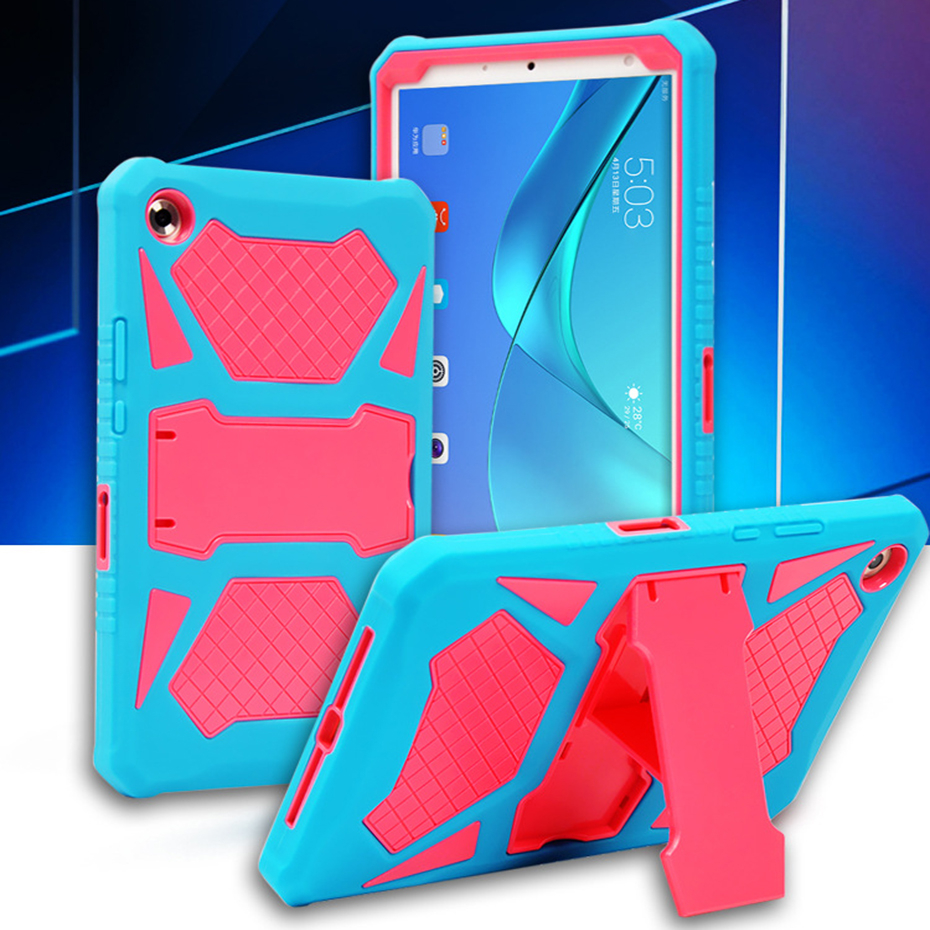 Armor Case For Huawei Mediapad T5 10 10.1 AGS2-W09/L09/L03/W19 Tablet Stand Cover For Huawei Honor Pad 5 Case 10.1 Inch