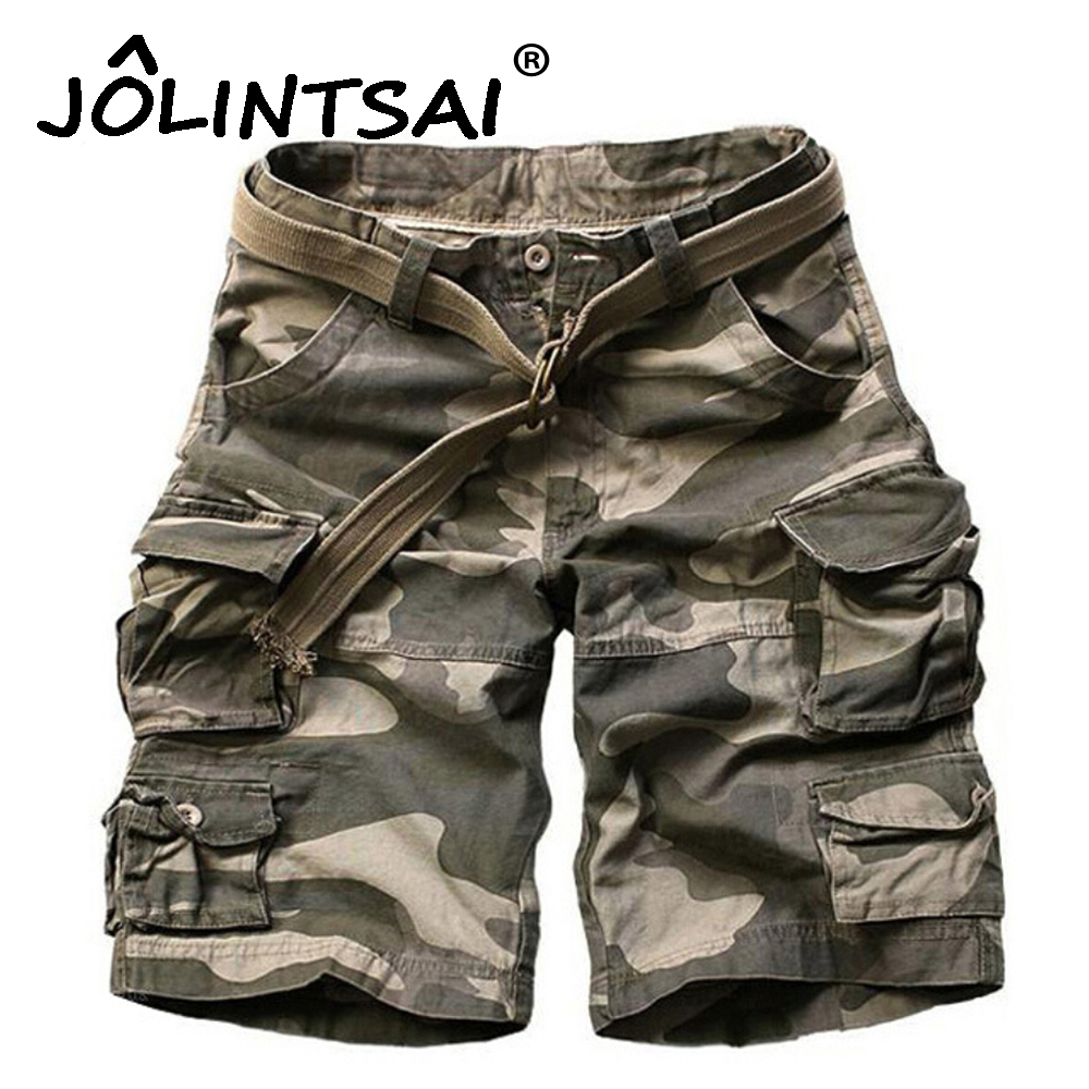 Army Camouflage Homme Casual Outwear Loose Men Masculino Pants Shorts Cotton Shorts Cargo Short Mens Military 2017 OF8Tx7qn