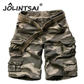 2017 Men Shorts Masculino Camouflage Cargo Military Shorts Mens Homme Outwear Cotton Loose Casual Army Short Pants