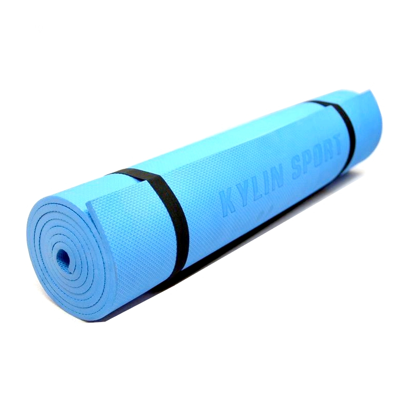 NBR single yoga mat yoga mat yoga mat carpet cushion Nap Mats Fitness supine genuine special offer free shipping in Yoga Mats from Sports Entertainment