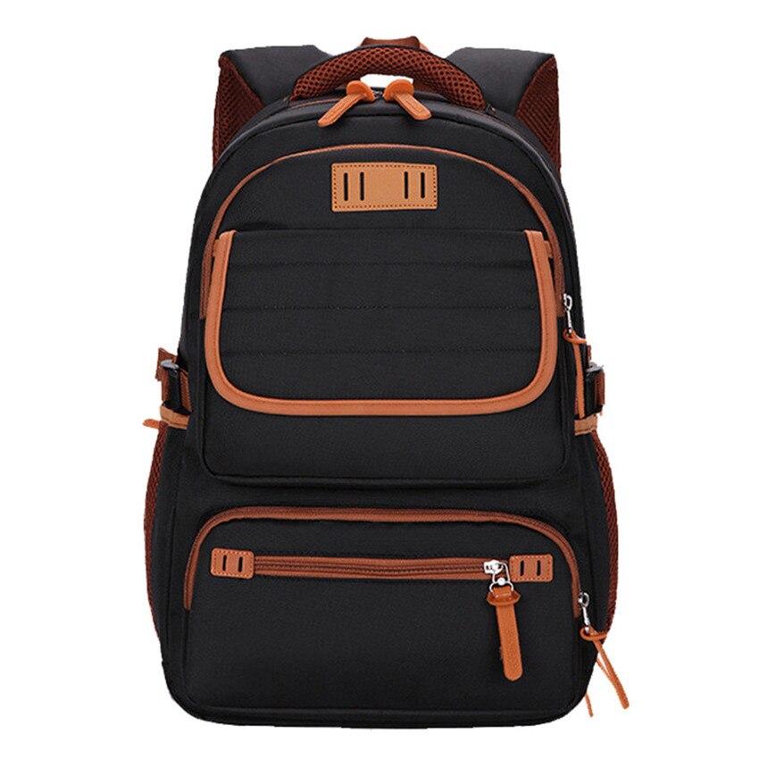 High Quality Boys School Bags College Backpack Waterproof Laptop Bag Men Travel Schoolbag Bagpack Birthday Gift In From Luggage On