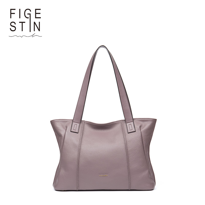 FIGESTIN Luxury Handbags Women Bags Designer Genuine Leather Bags Handbags Women Famous Brands Female Tote Messenger Bag chispaulo women genuine leather handbags cowhide patent famous brands designer handbags high quality tote bag bolsa tassel c165