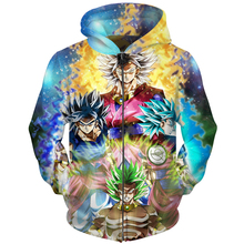 Cloudstyle Dragon Ball Super DBZ Movie 2018 Zip Hoodies Men Women 3D Sweatshirt Ainme Goku Printed Pullovers Male Zipper Hoody