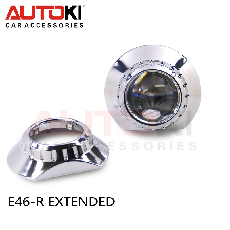 Free Shipping Car Projector Headlight LHD 3 inch Koito Q5 Bi xenon hid projector lens D1S D2S D3S D4S + E46 ZKW Projector Cover