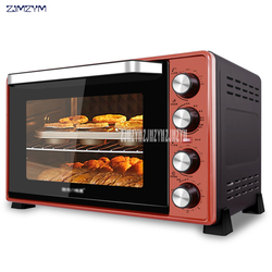 SRQ-5003 Oven Household 45L Gold Large Capacity Multifunctional Automatic Baking Cake 220V/2000W