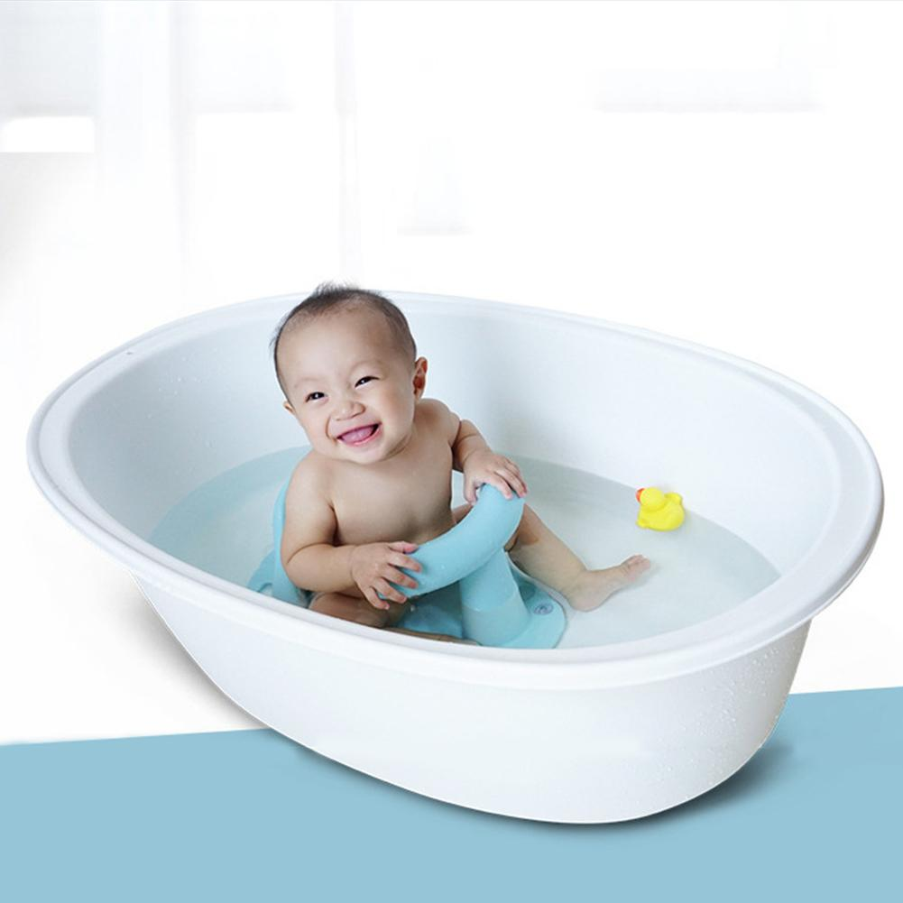4 Colors New Baby Child Toddler Bath Tub Ring Seat Infant Anti Slip Safety Chair Kids Bathtub Mat Non slip Pad Baby Care Bath