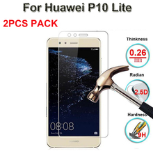 9H Tempered Glass For Huawei P10 Lite WAS-LX1 LX1A Glass For Huawei P10lite WAS-LX2 LX3 LX2J Screen Protector Protective Film