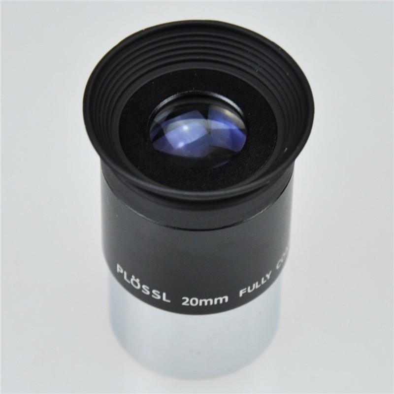 Threaded for Standard 1.25inch Astronomy Filters 12.5mm 4-Element Plossl Design 1.25 Plossl Telescope Eyepiece