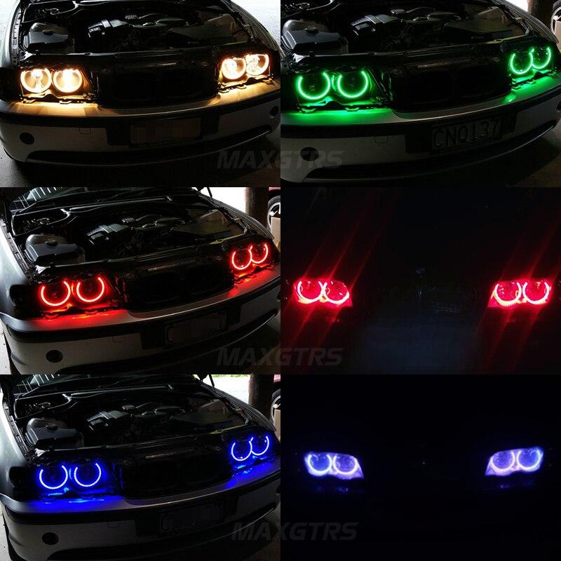 2x 146 χιλιοστά + 2x 131 χιλιοστά 5050 42SMD RGB - Φώτα αυτοκινήτων - Φωτογραφία 6