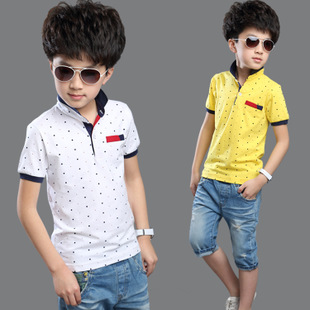 4579ea5b 2015 New Summer Cotton Polo Shirt Fashion Boys T Shirt All For Children  Clothing And Accessories Kids Designer T-Shirts