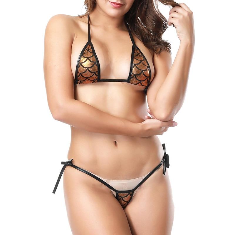 Women Pu Leather Bra Set Fetish Sexy Costumes Porno Lingerie Set Temptation Bralette Underwear Set Femme Lingeries Lenceria