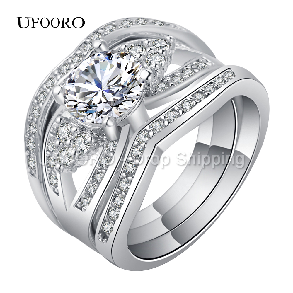 wedding rings triple band wedding ring best images about Wedding Rings on Pinterest Hearts on fire Cartier love ring and Halo