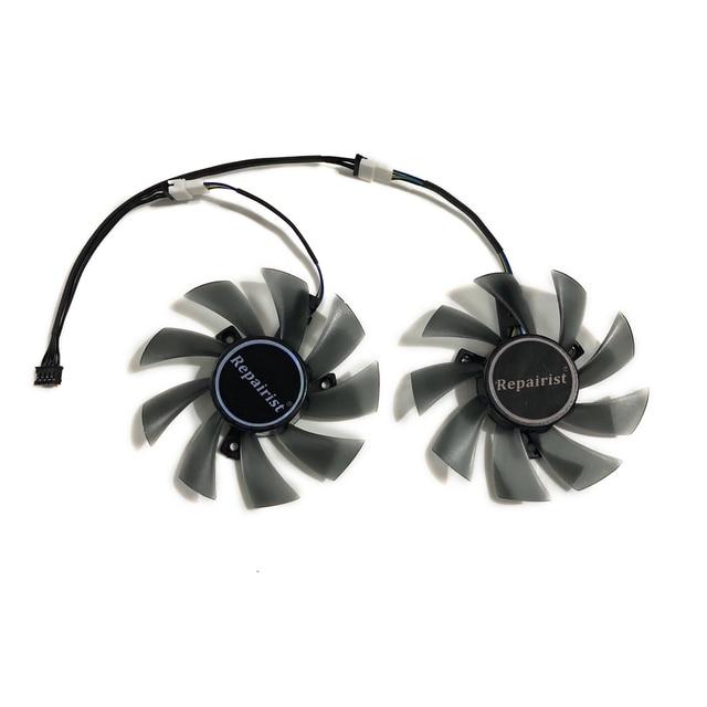 82-85MM T129215SU GPU Cooler ventilateur alternatif pour GIGABYTE RX580 480 570 470 GTX1070 1060 1050 carte graphique frais de refroidissement