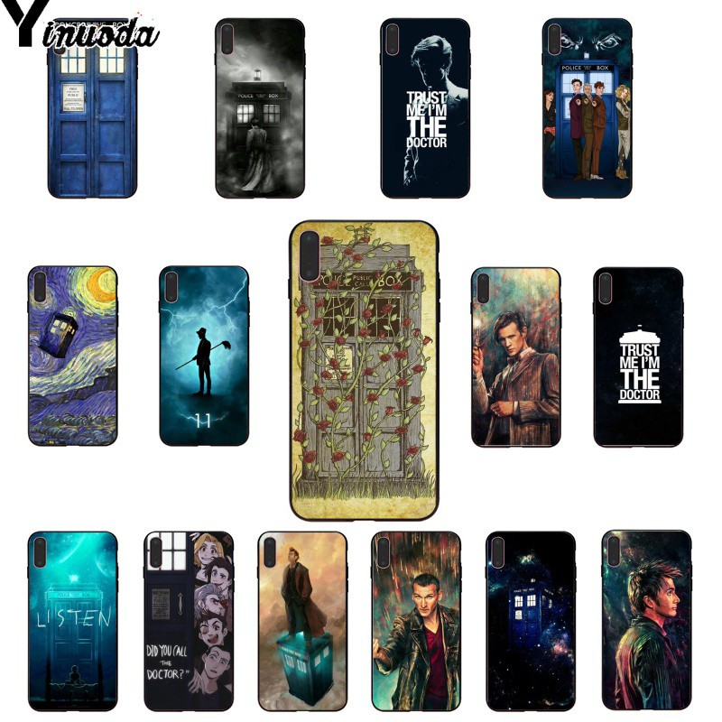 Half-wrapped Case Clever Yinuoda Tardis Box Doctor Who Soft Rubber Black Phone Case For Iphone 6s 6plus 7 7plus 8 8plus X Xs Max 5 5s Xr Do You Want To Buy Some Chinese Native Produce?
