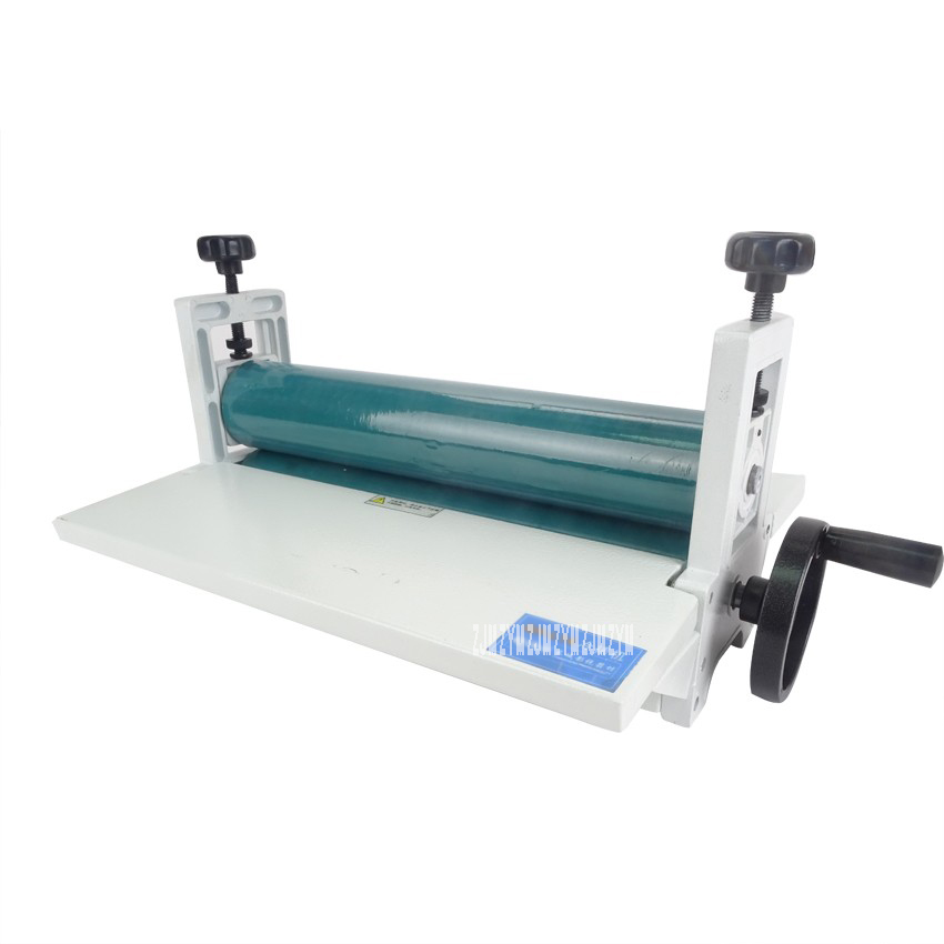 NEW 14 350mm Manual Laminating Machine Photo Vinyl Protect Rubber Cold Laminator 1pc 6inch 150mm manual cold roll laminating machine photo vinyl protect rubber cold mounting laminator
