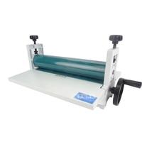 NEW 14 350mm Manual Laminating Machine Photo Vinyl Protect Rubber Cold Laminator 1pc