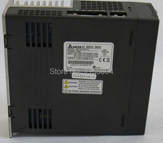 1ph 220V 750W 5.1A ASD-A2-0721-L Delta AC Servo Drive  with Full-Closed Control New asd b2 0721 b detla ac servo drive 1ph 220v 750w 5 1a new in box