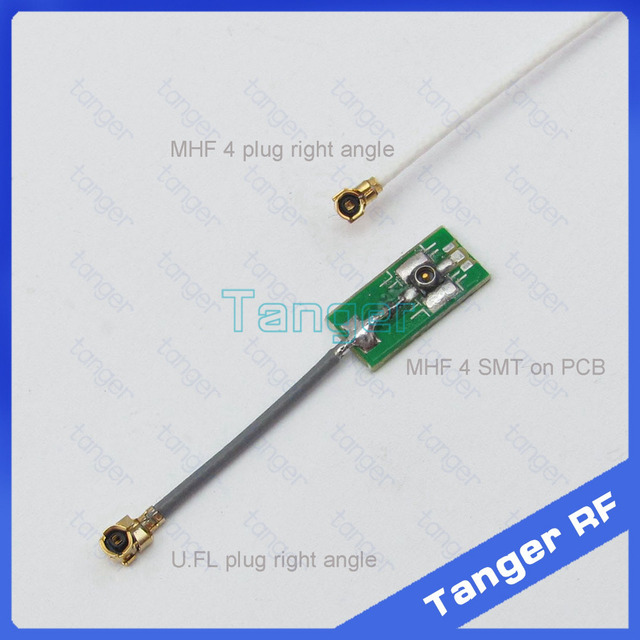2015 IPX IPEX MHF4 kobiet SMT na PCB, aby U. FL wtyk kątowy złącze 1.13mm koncentryczny Jumper kabel RF 8 cm 3 cal dla router Wi-Fi